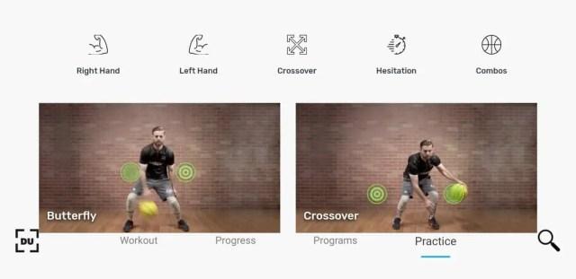Dribble Up Basketball app