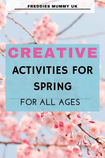 Creative Activities for Spring with kids#spring