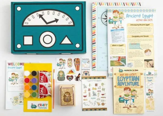 Mysteries in Time - Kids Subscription Box UK