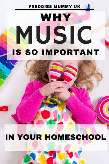 Why music is so important to child development, and why all homeschoolers should have music lessons