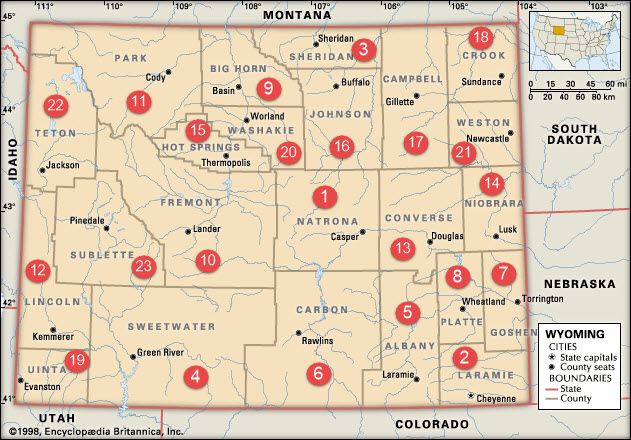 County Representatives - Homeschoolers Of Wyoming