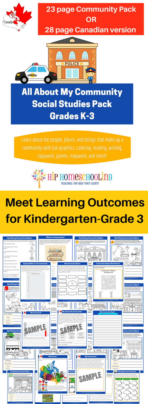 small resolution of Social Studies K-3 Printable Pack-Meet Learning Outcomes!