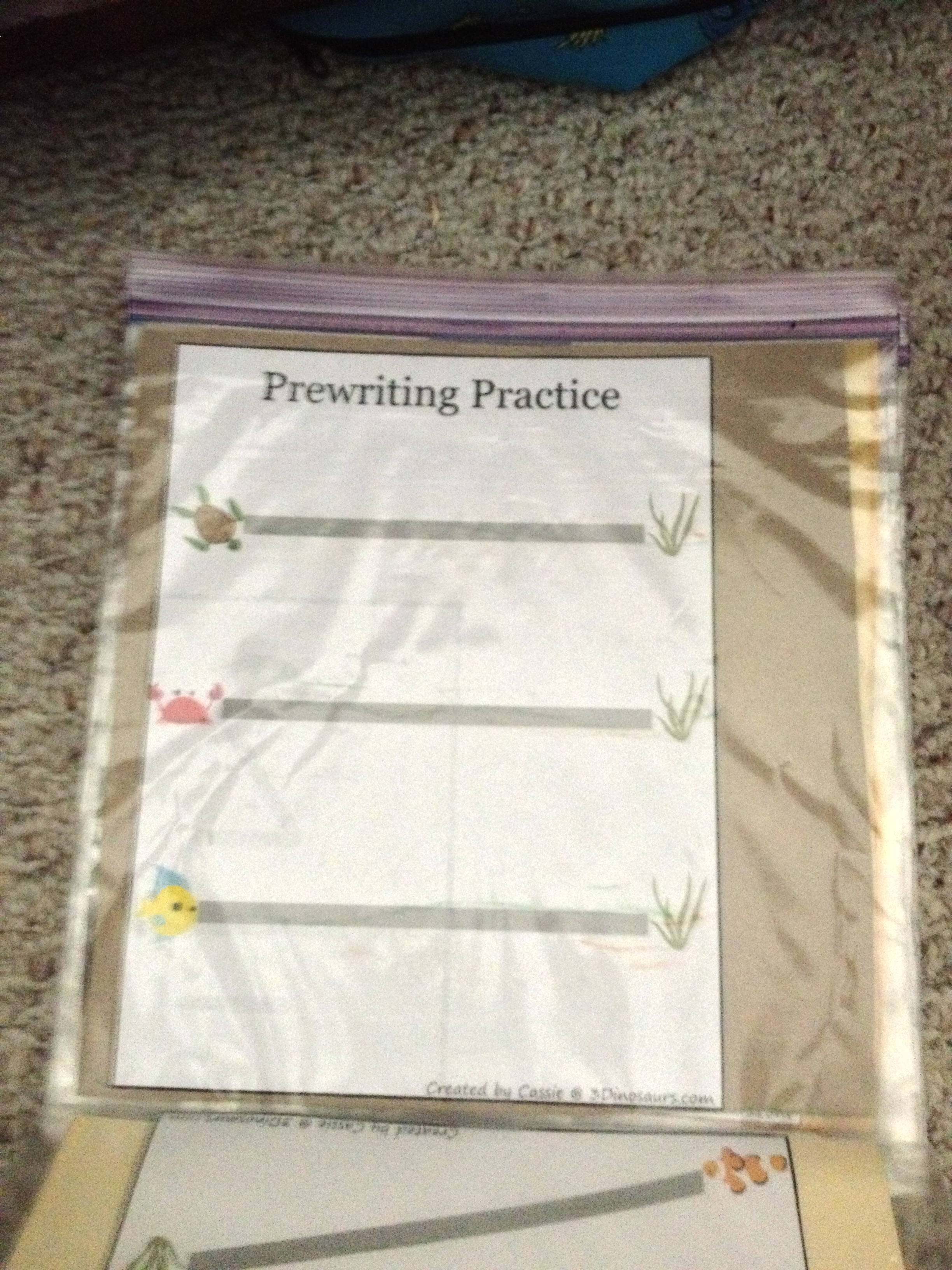 Activity Box Home School On A Dime