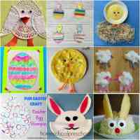 An Amazing Collection of Easy Easter Crafts for Kids
