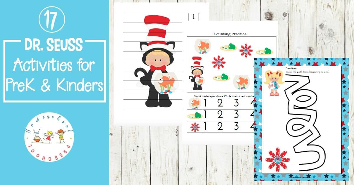 Free Dr Seuss Printable Pack For Preschoolers