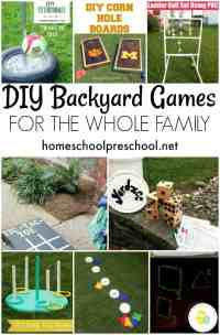 10 Simple DIY Backyard Games for the Whole Family