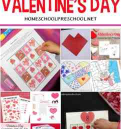24 FREE Printable Valentines Worksheets for Kids [ 1100 x 735 Pixel ]