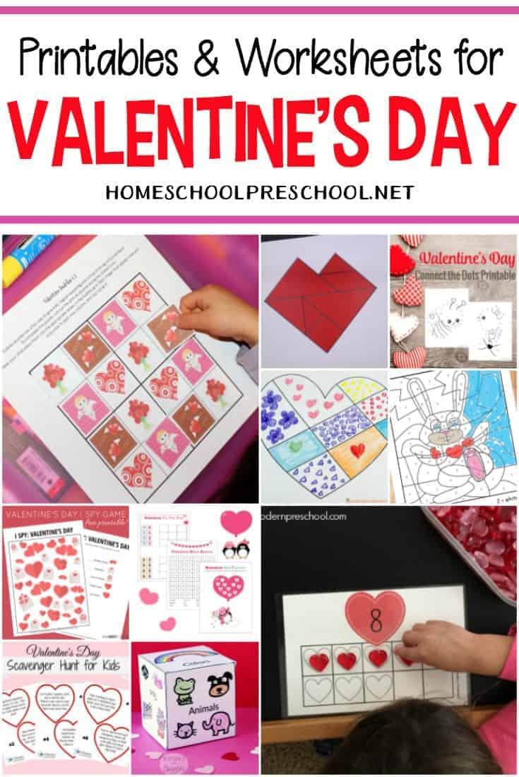 medium resolution of 24 FREE Printable Valentines Worksheets for Kids