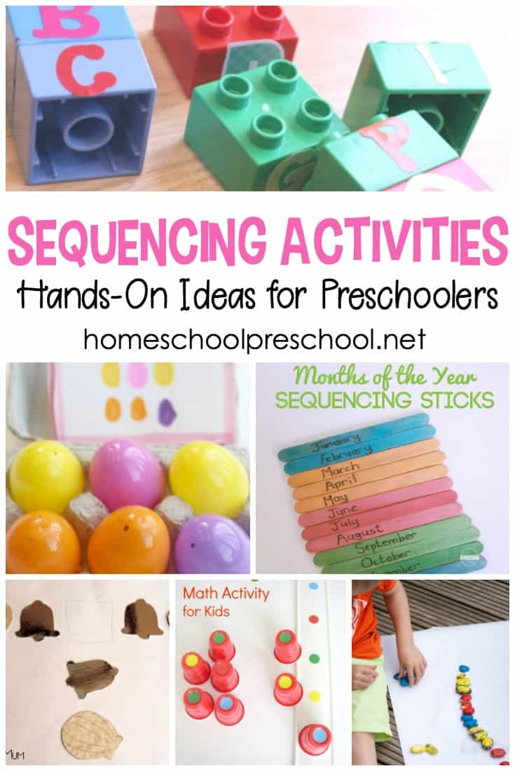 engaging hands on sequencing
