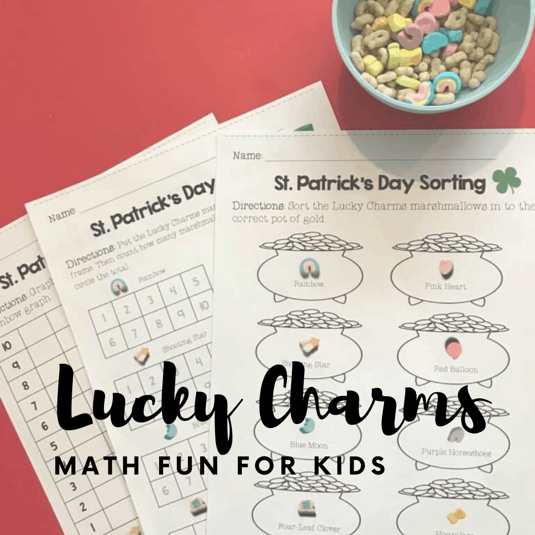 St Patricks Day Math Worksheets For Preschoolers