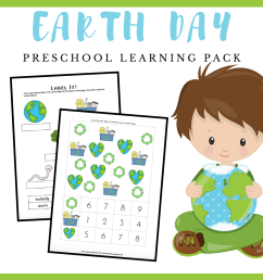 Free Printable Earth Day Worksheets for Preschool [ 1080 x 1080 Pixel ]