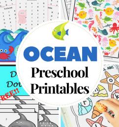 25+ Preschool Ocean Theme Printables for Summer [ 1102 x 735 Pixel ]