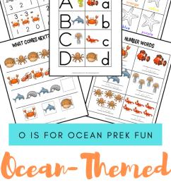 Free Printable Preschool Ocean Worksheets [ 1102 x 735 Pixel ]
