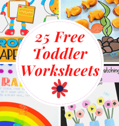 Free Printable Toddler Worksheets to Teach Basic Skills [ 1102 x 735 Pixel ]