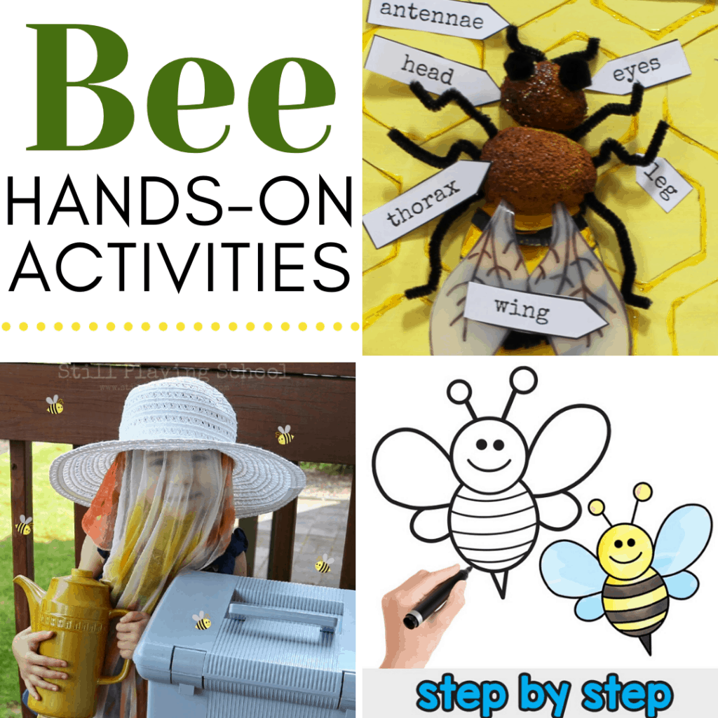 20 Engaging Hands On Activities Exploring Bees For Kids