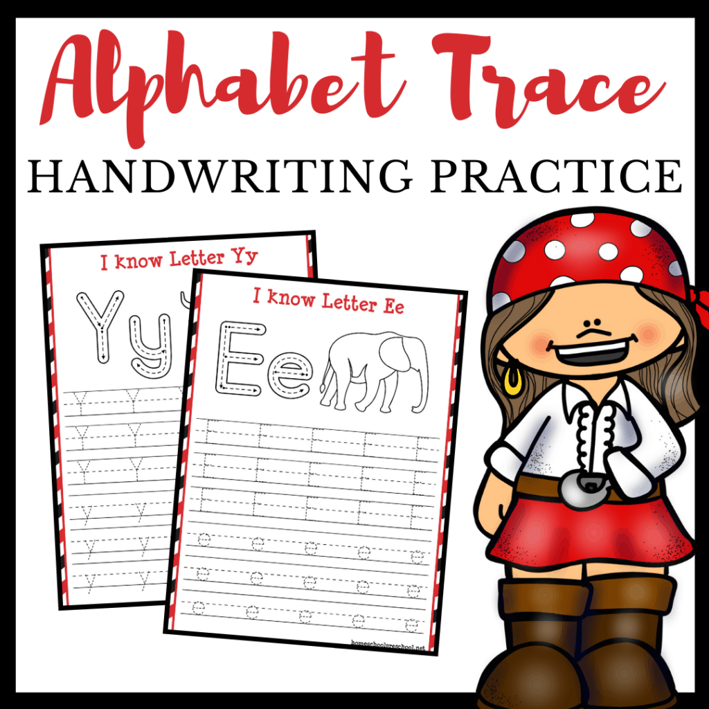 Free Printable Alphabet Tracing Worksheets For Preschool