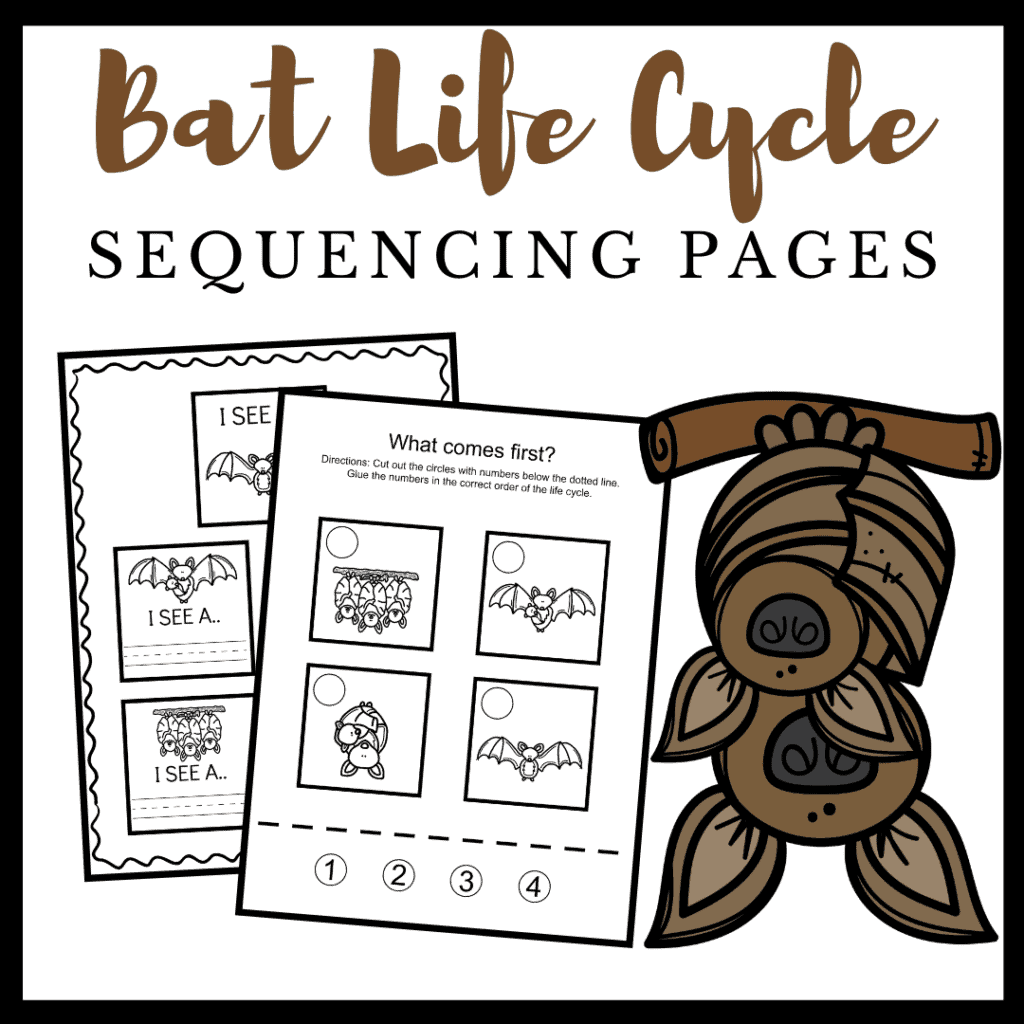 Free Printable Life Cycle Of A Bat Worksheets For Preschool