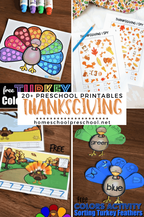 small resolution of Free Printable Thanksgiving Worksheets for Preschoolers