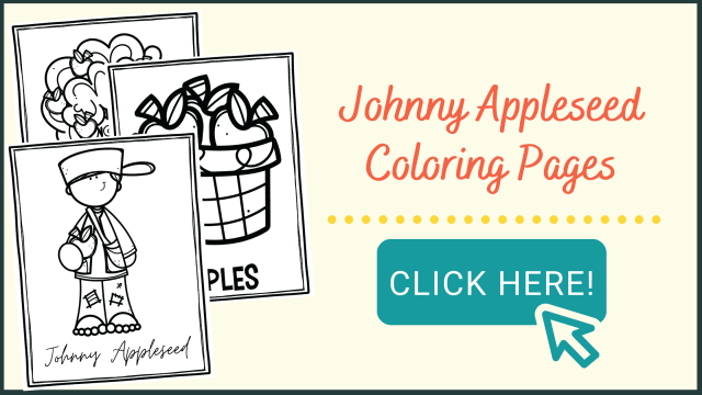 Free Printable Johnny Appleseed Coloring Pages for Kids