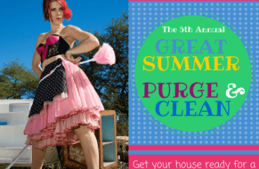 The 2018 Great Summer Purge & Clean is UNDERWAY!