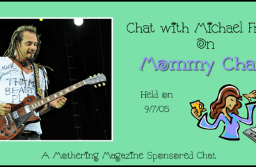 Chat with Michael Franti on Mommy Chats 9/7/05