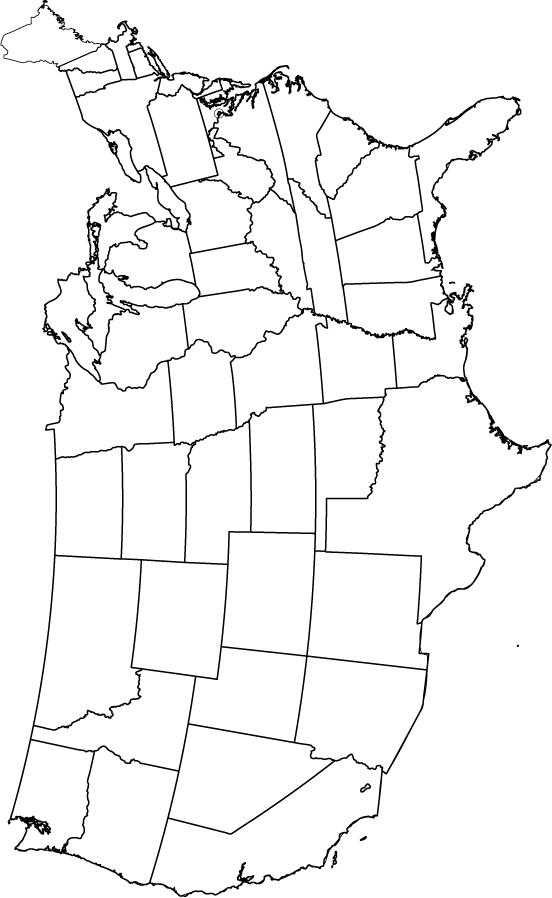 us map blank