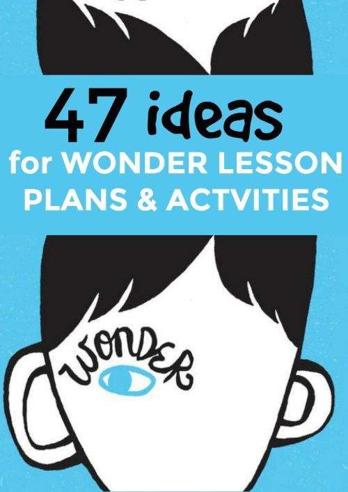 small resolution of 47 Wonder Activities and Lesson Plans (Book and Movie)   Homeschool Super  Freak