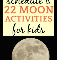 Full Moon Schedule 2021 and 27 Moon Activities for Kids [ 1300 x 750 Pixel ]