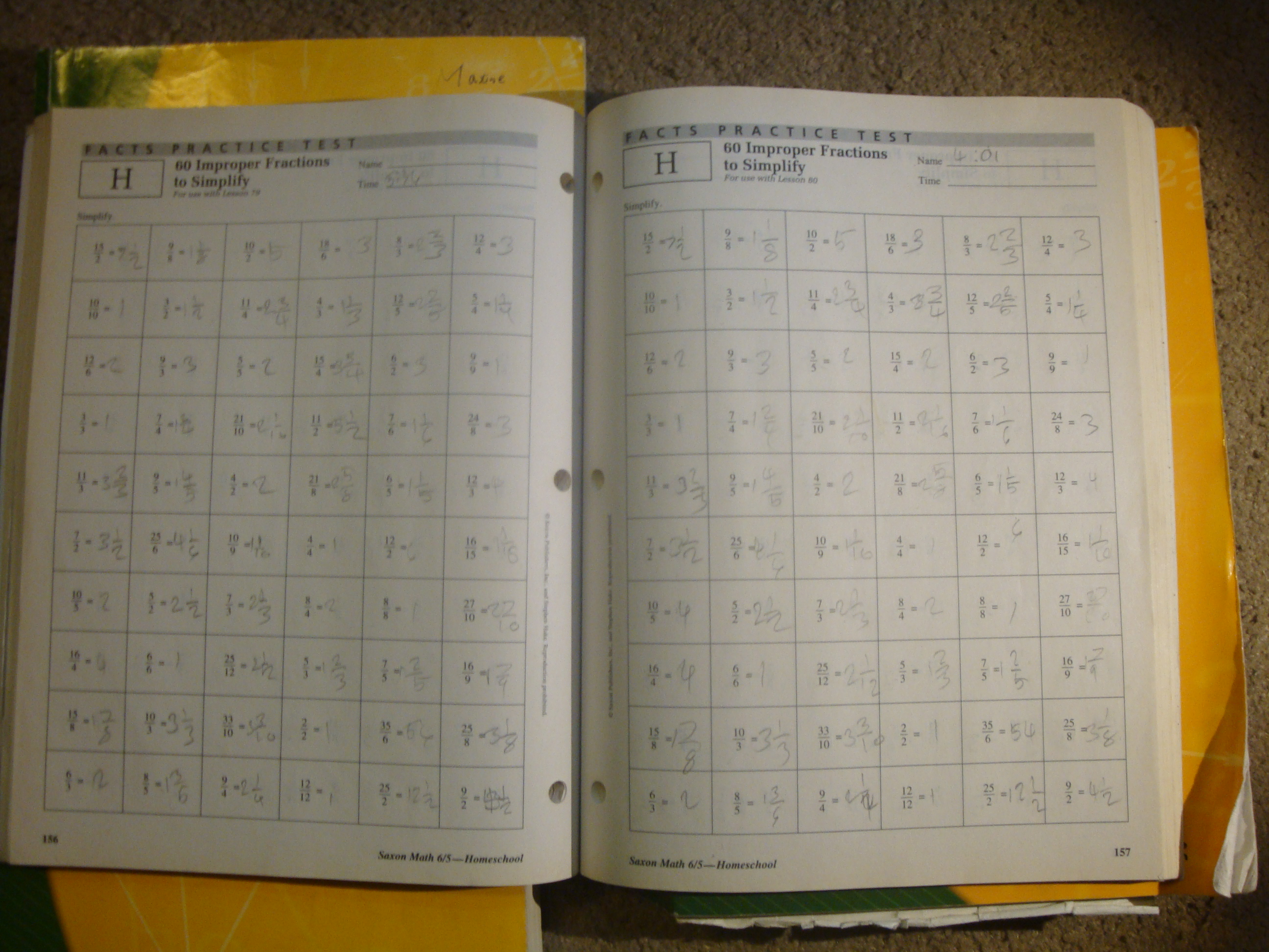 Saxon Math Grade 6 5 Homeschool Travelers