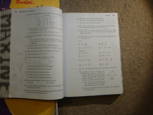 small resolution of Saxon Math 8 7 Worksheets   Printable Worksheets and Activities for  Teachers