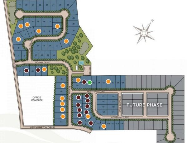 Snellville GA Site Plan For Shadowbrook Crossing