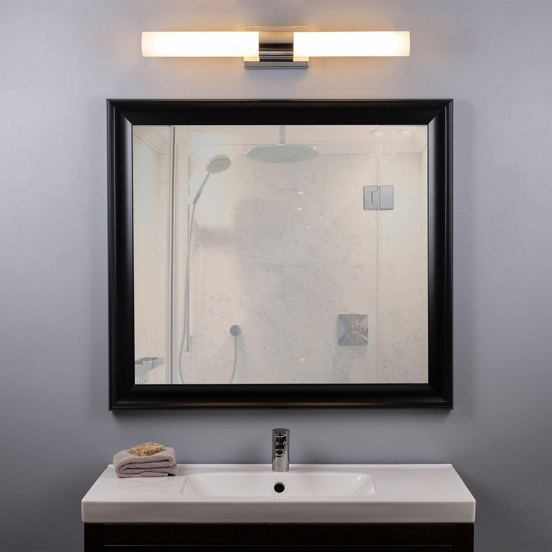 Opsaetning Af Lampe Belysning Over Toilet Spejl Skab Kr 295