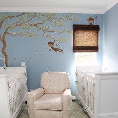 Blue Nursery Chair Beach Position Baby Nurserys Room Essentials That You May Need Homesfeed