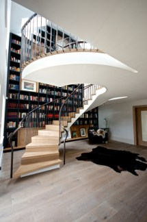 Whirling Staircase Design With Jaw-dropping Size In