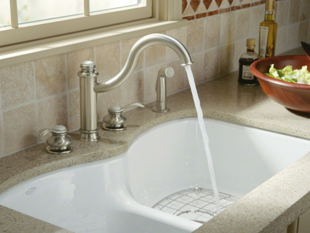 kitchen sink types materials home depot handles what is best material homesfeed