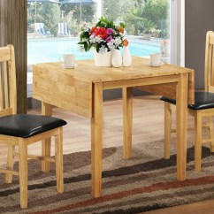 Drop Leaf Kitchen Tables For Small Spaces Granite Kitchens And Chairs In White Home