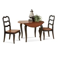 Drop Leaf Kitchen Table Chairs Chair Lift Photo Frame 5 Styles Of Dining For Small Spaces