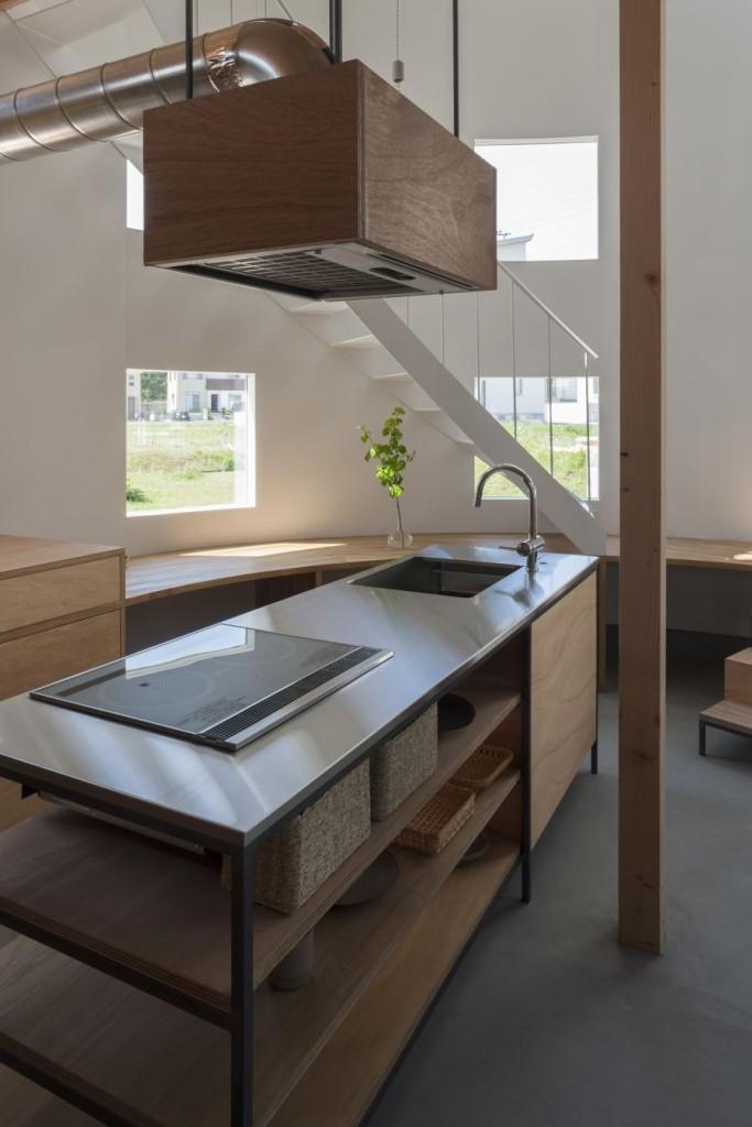 Beautiful Minimalist Japanese Kitchen Style