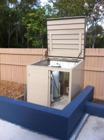 Pool Pump Equipment Enclosure