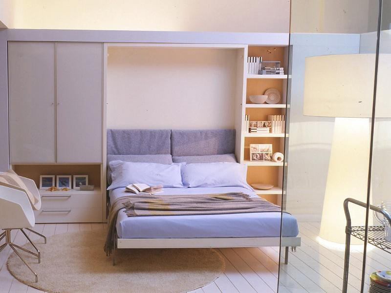 Bed That Folds Into Wall Best Solution For Small Bedroom