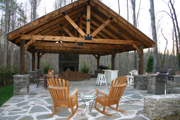 Outdoor Pavilion Plans A Way To Expand Your Outdoor Area
