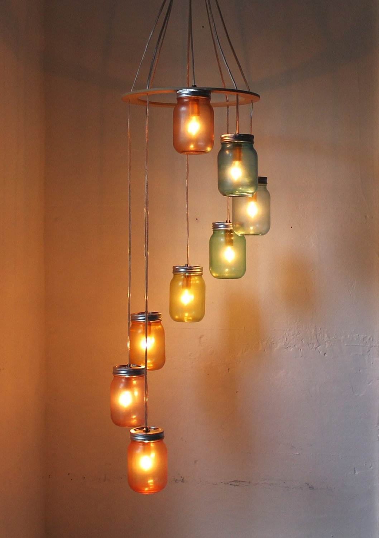 How To Create Mason Jar Lighting Fixtures Homesfeed