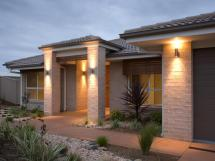 Creating Enchanting Front Entry With Architectural