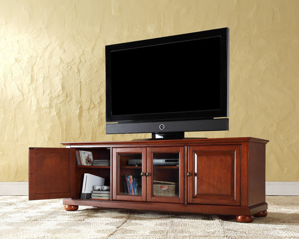 Low Profile Media Console Optimize The Entertainment Room