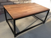 Creative Idea of Butcher Block Coffee Table | HomesFeed