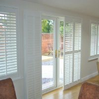 Cool and Nice Design of Shutter For French Doors | HomesFeed