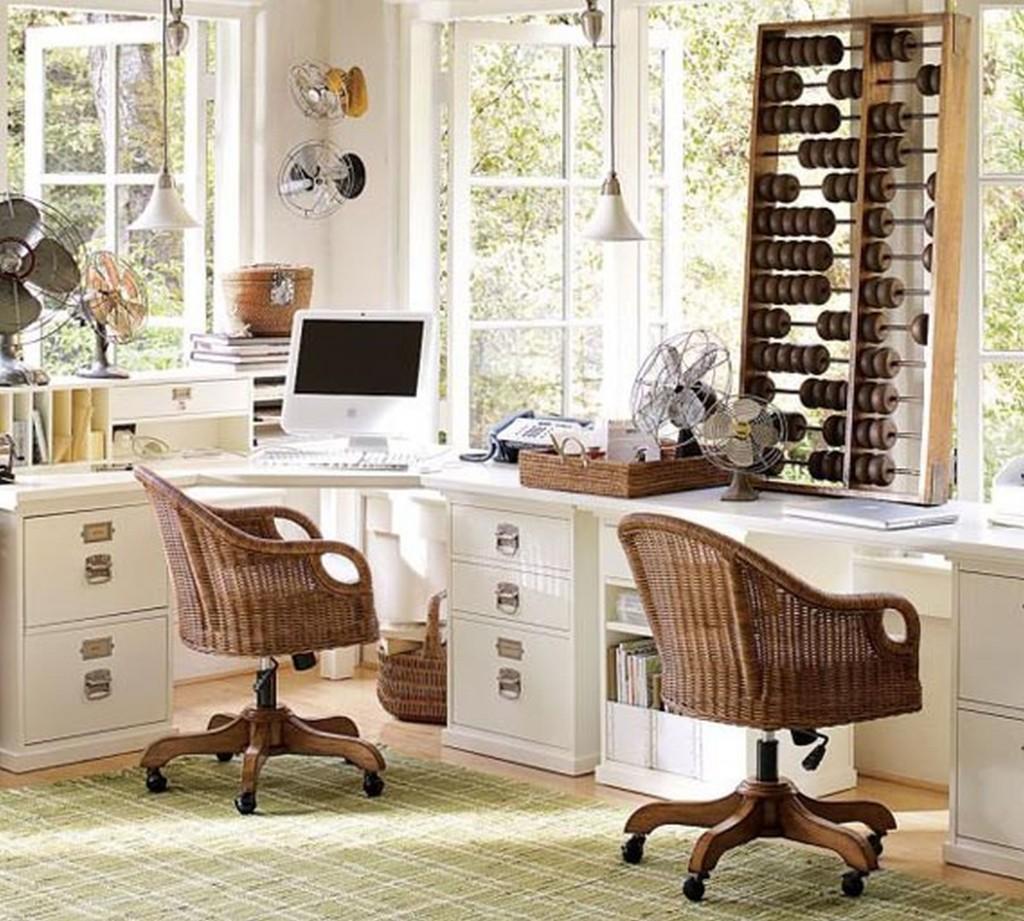 2 Person Desk Design Selections  HomesFeed