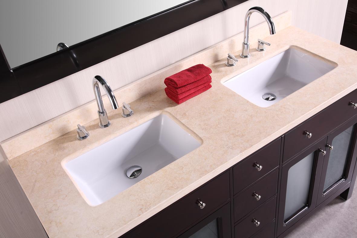 undermount double kitchen sink unique faucets 48 inch bathroom vanity homesfeed