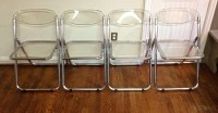 Lucite Folding Chairs: Afford Extra Comfort and Space ...