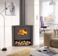 Corner Wood Burning Stove: Functional and Interior ...